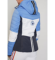 Sportalm Kitzbühel Gazon - giacca da sci - donna, Light Blue/White