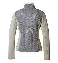 Sportalm Kitzbühel Munkh Light Marble Layer Damen-Fleecejacke, Grey/White