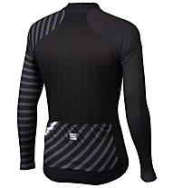 Sportful Bodyfit Team Winter - maglia bici - uomo, Black/Grey