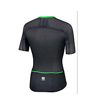 Sportful BodyFit Ultralight Jersey - Radtrikot - Herren, Black/Green