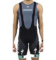Sportful Bora BFP Classic (2021) - pantaloni bici con bretelle - uomo, Black