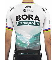 Sportful Bora Bomber (2021) - maglia bici - uomo, White/Green/Black