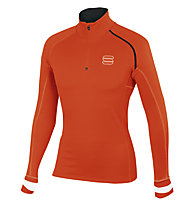 Sportful Bosconero Zip Top Langlaufshirt, Orange