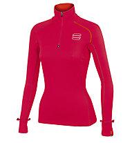 Sportful Bosconero Layer Langlaufski-Pullover für Damen, Pink
