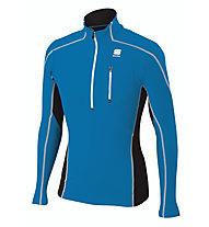 Sportful Cardio Tech Top Langlaufski-Pullover, Light Blue
