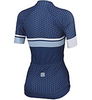 Sportful Diva - maglia bici - donna, Light Blue/White