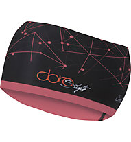 Sportful Doro Headband - Stirnband Langlauf - Damen, Black/Pink