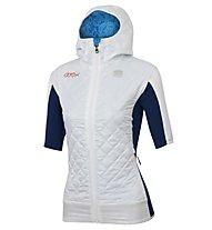 Sportful Doro Rythmo Puffy - Skilanglaufjacke - Damen, White/Blue