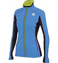 Sportful Engadin W Wind - Softshelljacke Langlaufen - Damen, Light Blue