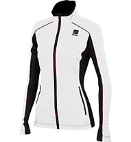 Sportful Giacca da sci di fondo Engadin W Wind Jacket, White/Black
