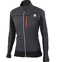 Sportful Engadin Wind - Langlaufjacke - Herren, Dark Grey