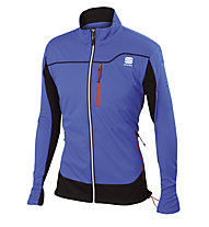 Sportful Engadin Wind Langlaufjacke/Softshelljacke, Light Blue
