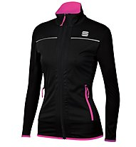 Sportful Engadin Wind Jacket - Langlaufjacke - Damen, Black