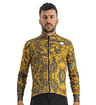 Sportful Escape Supergiara Thermal Jersey - maglia ciclismo - uomo, Brown/Orange