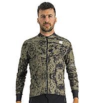 Sportful Escape Supergiara Thermal Jersey - maglia ciclismo - uomo, Green/Black