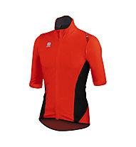Sportful Jersey bici Fiandre Light Norain SS - Maglia Ciclismo, Red/Black