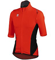 Sportful Fiandre Light Norain SS - Radtrikot - Herren, Red/Black
