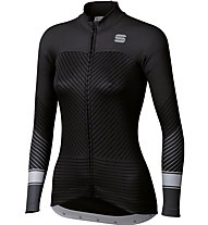 Sportful Flow Woman Long Sleeve - Radtrikot - Damen, Black