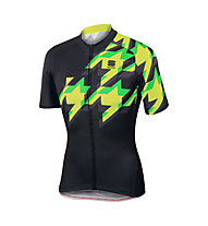 Sportful Fuga Jersey - Radtrikot - Herren, Black/Yellow