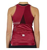 Sportful Giara - top da ciclismo - donna, Red