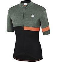 Sportful Giara Jersey - Radtrikot - Herren, Green/Black