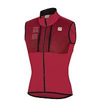 Sportful Giara Layer - gilet da ciclismo - uomo, Red
