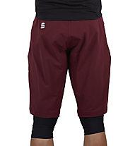 Sportful Giara - pantaloni bici - uomo, Red