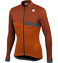 Sportful Giara Thermal Jersey - Radtrikot - Herren, Dark Orange