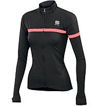 Sportful Giara W - giacca bici - donna, Black/Red