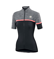 Sportful Giara W Jersey - Radtrikot - Damen, Black/Grey/Red