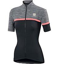 Sportful Giara - maglia bici - donna, Black/Grey/Red