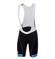 Sportful Pantaloni bici corti con bretelle Giro Bibshort, Black/Blue
