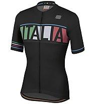 Sportful Italia Jersey - Radtrikot - Herren, Black