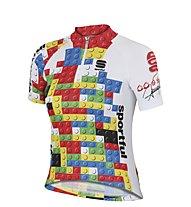 Sportful Kid MGF 14 Jersey Maglia Ciclismo Bambino, White