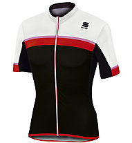 Sportful Pista Jersey Radtrikot, Black/Red