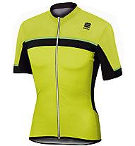 Sportful Pista Jersey - Radtrikot - Herren, Yellow/Black