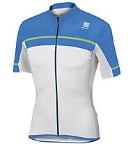 Sportful Pista Jersey - Radtrikot - Herren, White/Blue