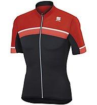 Sportful Pista Jersey - Radtrikot - Herren, Grey/Red