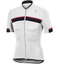 Sportful Pista Jersey - Radtrikot - Herren, White/Black