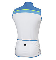 Sportful Pista Sleeveless ärmelloses Radtrikot, White/Blue
