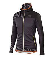 Sportful Rythmo Langlaufjacke/Softshelljacke, Grey/Orange