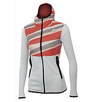 Sportful Rythmo W - giacca sci di fondo - donna, White/Red
