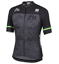 Sportful Sagan Logo Team - Radtrikot - Herren, Grey/Green