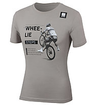 Sportful Sagan Whee Lie Tee - T-Shirt - Herren, Grey