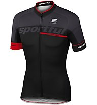 Sportful SC Team Jersey SS - Radtrikot - Herren, Black/Grey