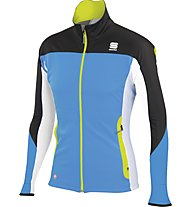 Sportful Squadra Corse 2 GORE WINDSTOPPPER Langlaufjacke, Light Blue