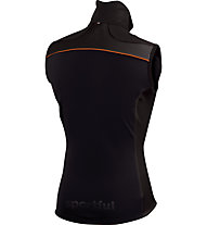 Sportful Gilet sci di fondo Squadra Corse 2 Vest, Black/Dark Orange