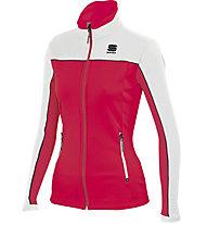 Sportful Squadra W Jacket - Langlaufjacke - Damen, Red/White