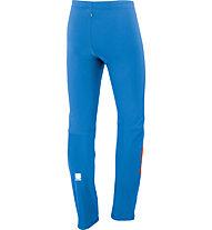 Sportful Pantaloni da fondo Squadra WS 2 Pant, Turquoise