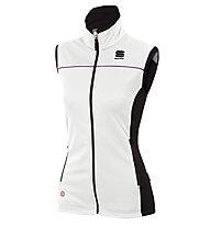 Sportful Gilet da fondo Squadra Vest W, White